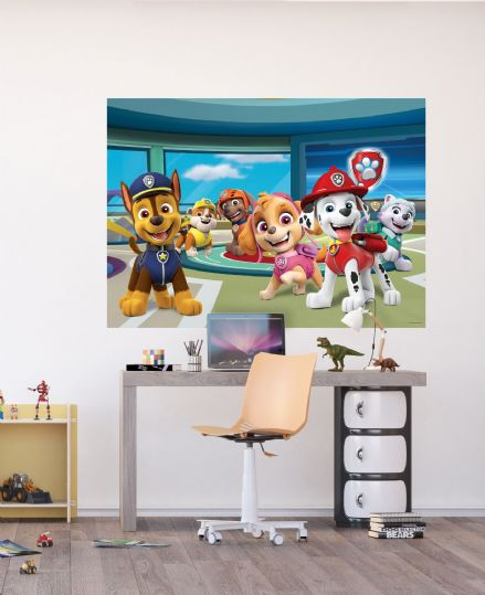 Paw Patrol wall mural wallpaper 160x110cm